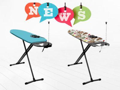 Новинка! Гладильные доски Ника Haushalt HP1 и HP1T уже в продаже!